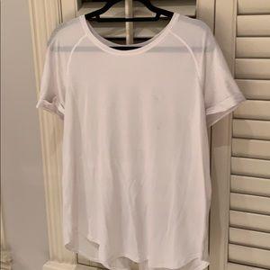 Lululemon white short sleeve shirt